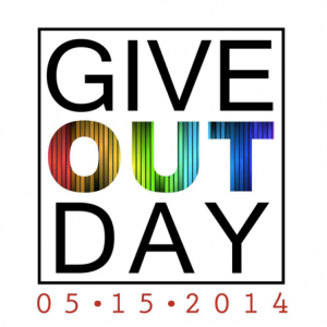 Give OUT Day square Logo for Facebook profile picture