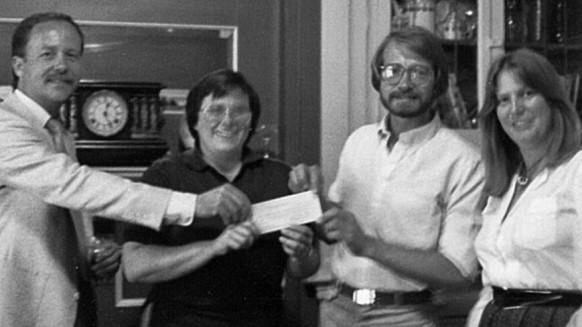 Early leaders Bill Clark, Laurie McBride, Mark Hetts, and Cheri Bryant.