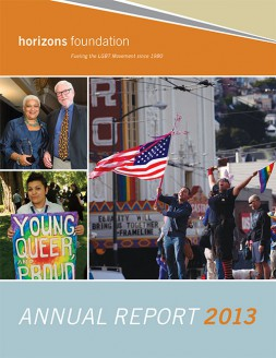 Horizons Foundation 2013 Annual Report