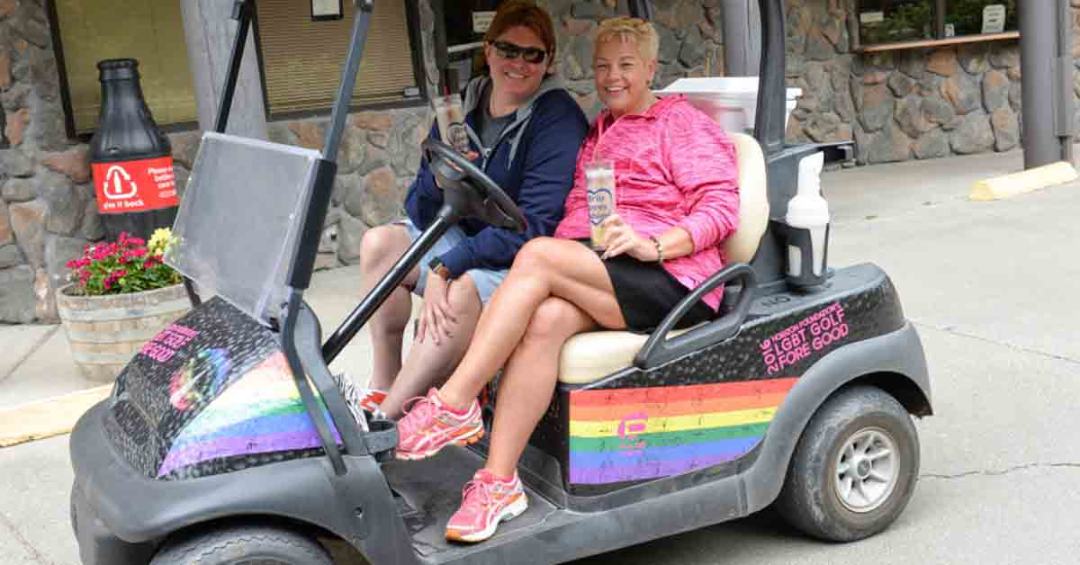 photo from 2016 LGBTQ Golf Fore Good