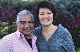 Dipti Ghosh and Meggy Gotuaco