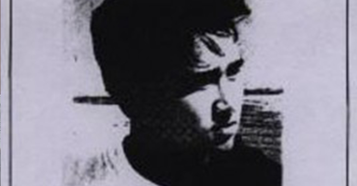 Black and white photo of George Choy