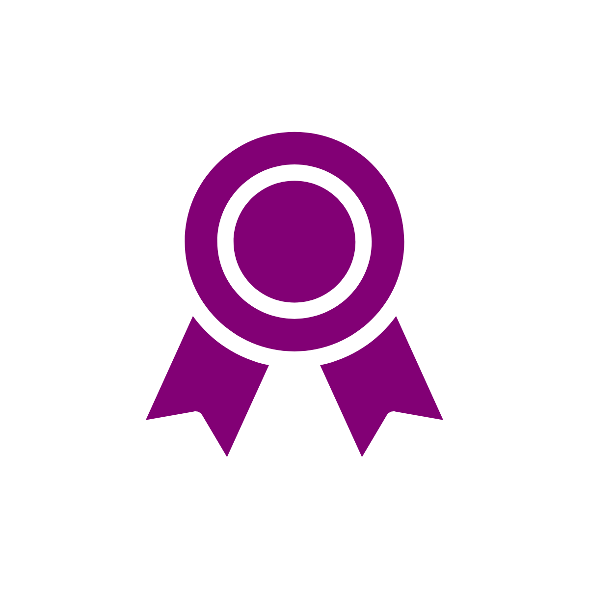 Icon of ribbon
