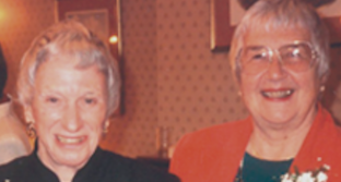Photo of Joie Hubbert and Mary Greer.