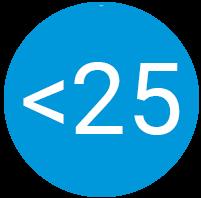 Under 25 icon