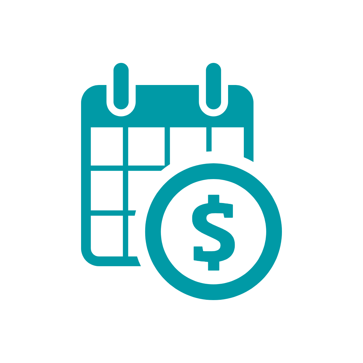 Fundraising Event Revenue Loan icon