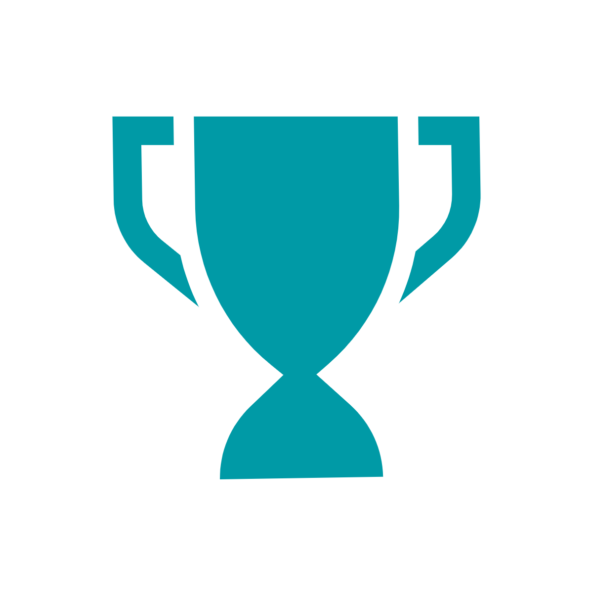 Green trophy icon