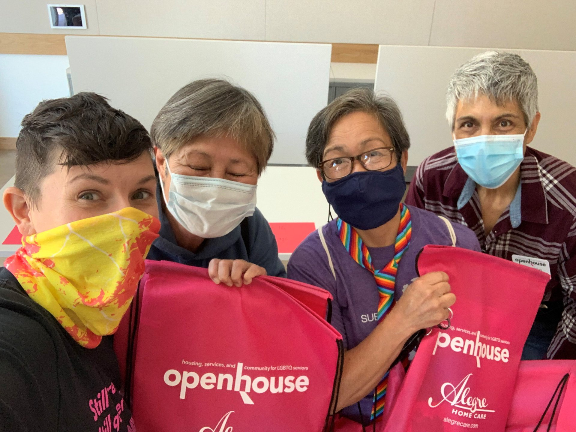 Openhouse delivering groceries to LGBTQ seniors