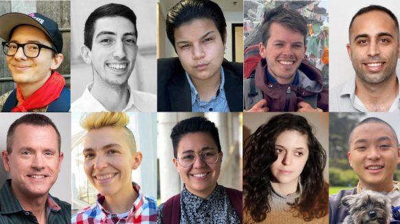 Headshots of the 10 Markowski-Leach scholarship recipients